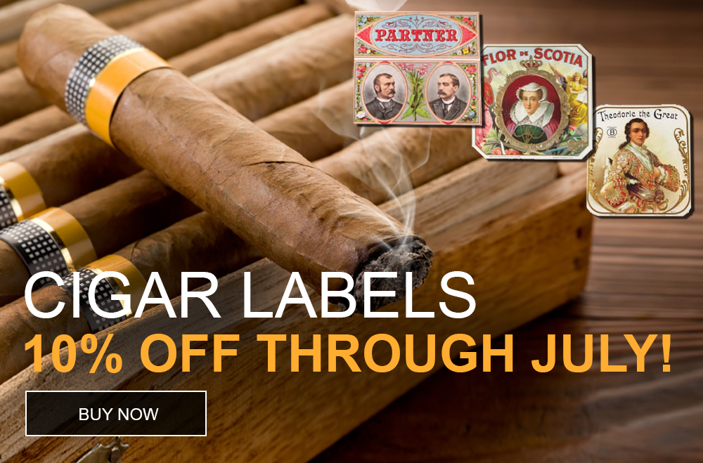 Cigar Labels on sale