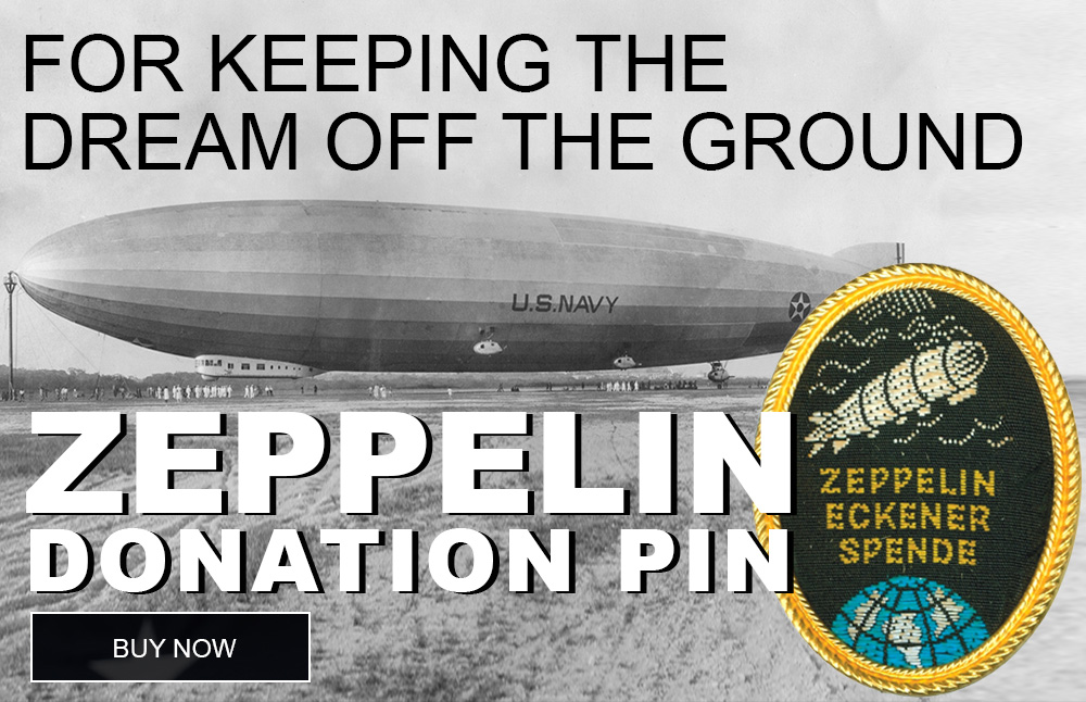 zeppelin thank you pin